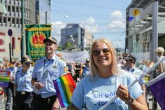 #Oslopoliti out in full force to support #gaypride #Oslo #humansofoslo