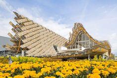 China Pavilion by Tsinghua University + Studio Link-Arc at Milan Expo Milan – Italy Parametric Architecture, Wooden Architecture, Architecture Design, Architecture Wallpaper, Parametric Design, Expo Milano 2015, Expo 2015, Tsinghua University, World Architecture Festival