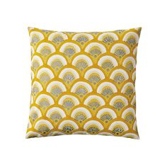Kyoto Pillow Cover – Goldenrod | Serena & Lily