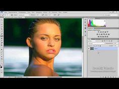Обзор программы Photoshop CC Умная резкость - YouTube