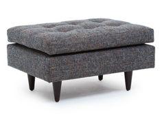 "Thrive Furniture - Tyler ottoman.  Variety of fabrics COM not avail.)  31"" w x 24"" d x 18"" h.  $419."