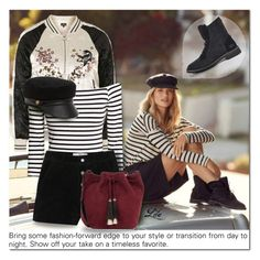 """""""The New Classics With UGG: Contest Entry"""" by breathing-style ❤ liked on Polyvore featuring UGG, Topshop, H&M, MANGO, Eugenia Kim and Loeffler Randall"""