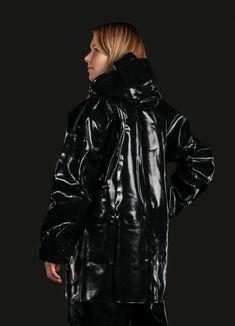 Manchester, Vinyl Raincoat, Raglan, Rain Wear, Perfect Woman, Unisex, Double Breasted, Catwalk, Rain Jacket