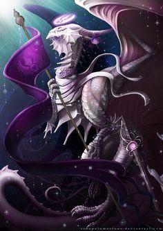 Arcania : Arcane Clan Leader by RenePolumorfous