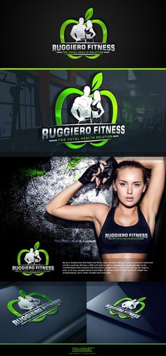 Husband and Wife Personal Training/Health and Wellness business in need of a badass logo by MaddoX™