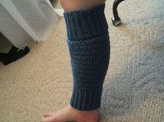 crocheted leg warmers pattern