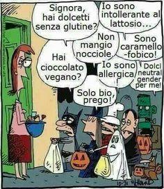 Halloween ai giorni nostri...