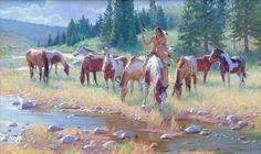 Lakota Treasure Guardians by R. S. Riddick - Wood River Fine Arts