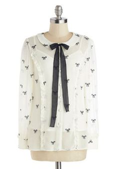 Best of Bows Worlds Top, #ModCloth