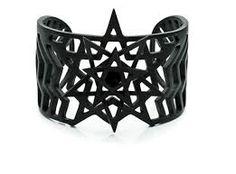 Image result for metal pentagram wrist cuff