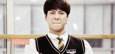 Hehey Jackson :))))) GOT♡7 