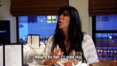 water is for fish martinis are for big ang