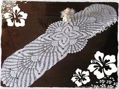 Delicadezas en crochet Gabriela: Camino / Carpeta / Mantel