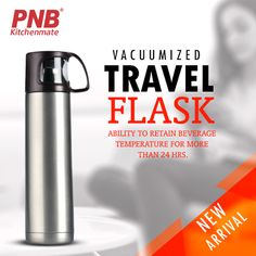 We ❤New Stuff! Meet our latest product - Vacuumized Travel Flask! Ability to retain beverage temperature for more than 24 hrs. #kitchenset #kitchenlife #kitchen #kitchendesign #kitchenaid #kitchenremodel #kitchener #best #newmodel #new #newproducts #hard #pressurecooker #mykitchen #mykitchenrules #my #models #best #bestproducts