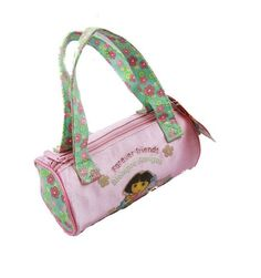 Dora the Explorer Hand Bag Purse Forever Friends Pink Flower *** Want to know more, click on the image.