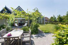 Tuin moderne landelijke woning
