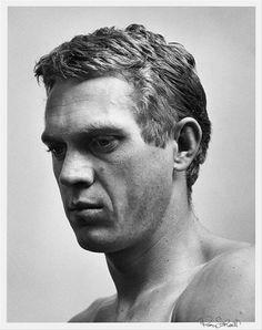 Steve McQueen by Roy Schatt