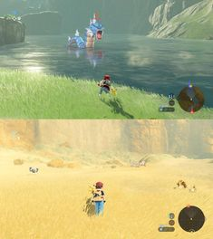 Dream Game: Pokémon Mixed with Breath of the Wild Environment Concept Art, Game Environment, Pokemon Mix, Unity Games, Modelos 3d, Breath Of The Wild, Nature Scenes, Legend Of Zelda, Game Design