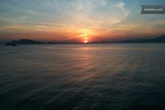 Hydronetta sunset http://hydra-guesthouses.com/welcome-1.html