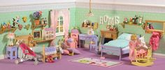 Dollhouse Nurseries - Phoebe and Mabel