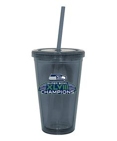 Loving this Seattle Seahawks 'Champions' 16-Oz. Tumbler on #zulily! #zulilyfinds