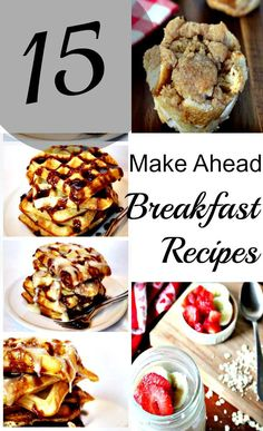 Ditch the drive thru with these 15 easy breakfast ideas. From make ahead breakfast burritos, a breakfast casserole crockpot concoction you're going to love, to homemade poptarts and even some nice oatmeal recipes, this post has them all. Pin this to your breakfast Pinterest board for safe keeping. My favorite is for sure {read more} http://couponcravings.com/15-Easy-and-Quick-Breakfast-Ideas/