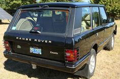 1995 Range Rover Classic SWB 4x4 For Sale Rear