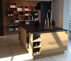HTH kitchen, Oak with Dekton work top