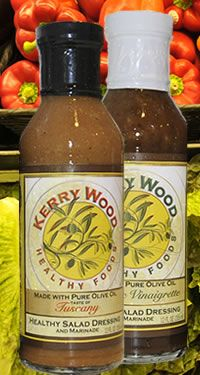 Kerry Wood Healthy Foods: Tuscany Healthy Salad Dressing