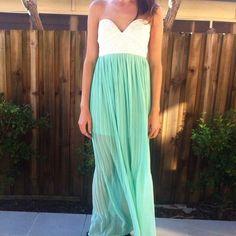 Mint Tea Dress