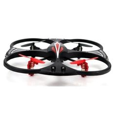 4-Channel / 3-Axis Remote Control UFO Quadcopter w/LED LightsGeneral Features: 4-Channel Remote Control Rotor Quadcopter (4.13-inch (10.5cm) design) 3-axis gyro flight control Low / High speed control