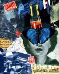 "Saatchi Art Artist Thomas Terceira; Collage, ""Metamorphosis #3"" #art"