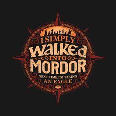 Entrar en Mordor. Diseño de Cory Freeman | El Anillo Único