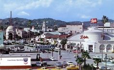 Westwood Village in the 1950s