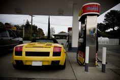 Gallardo at the pump 2007 Lamborghini Gallardo, Pumps, Vehicles, Pumps Heels, Pump Shoes, Car, Heel Boot, Slipper, Vehicle