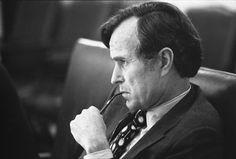 President Bush was ook een van de hoofdrol spelers van de Koude Oorlog.