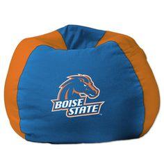 College NCAA Bean Bag Chair NCAA Team: Boise State - http://delanico.com/bean-bag-chairs/college-ncaa-bean-bag-chair-ncaa-team-boise-state-522780549/