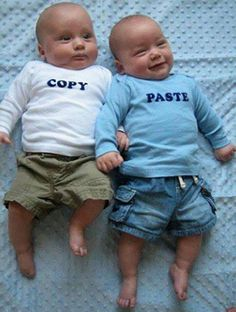Copy and Paste Toddler and Baby Shirts