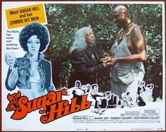 Sugar Hill Lobby Card #3, 1974, $12