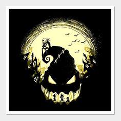 Images Disney, Disney Art, Art Tim Burton, Fröhliches Halloween, Nightmare Before Christmas Tattoo, Nightmare Before Christmas Wallpaper, Jack The Pumpkin King, Oogie Boogie, Art Anime