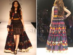 Sonali Bendre still has it:-)   At the Lakme Fashion Week