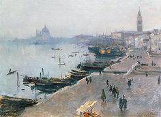 Title: Venice in Grey Weather, undated Artist: John Singer Sargent Medium: Canvas Art Print - Giclee