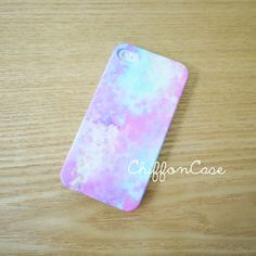 Pastel iPhone 5 Case , iPhone 5s Case, iPhone 5 Cover, Unique Apple iPhone Case, Cute iPhone 5 Cases - Watercolor Art Painting on Etsy, $19.00