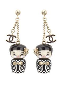 Boucle oreille Chanel : boucle oreilles mode Chanel - Idée cadeau: des idées de cadeux tendance pour Noël 2010
