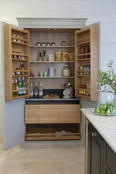 Kitchen Larder Cupboard Unit Hand Made In The UK Free Delivery