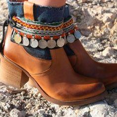 Como usar bota de cano curto?