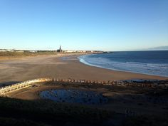 Tynemouth long sands beach 7.40 am 31 St April 2015 www.tynemouthwebcam.com