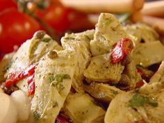 Roasted Artichoke Salad from FoodNetwork.com