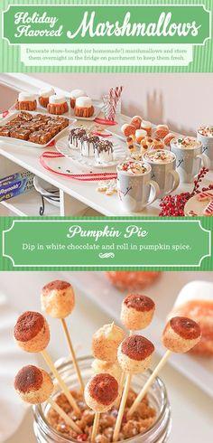 Pumpkin Pie Flavored Marshmallows!