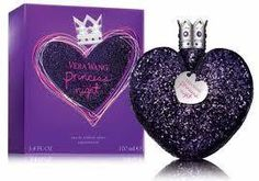 VERA WANG PRINCESS NIGHT EAU DE TOILETTE 50ML SPRAY   Vera Wang Princess Night Perfume begins with sparklingly sweet wild berries, watermelon and tart raspberry. This is drawn around a heart bouquet of jasmine petals, spicy orange blossom, passion rose and a hypnotic aroma of plumeria. The base is a mysterious blend of crushed sugar and creamy woods with hints of musk and vanilla. £29.99